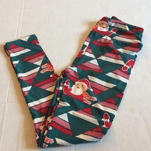 Lularoe tween holiday leggings